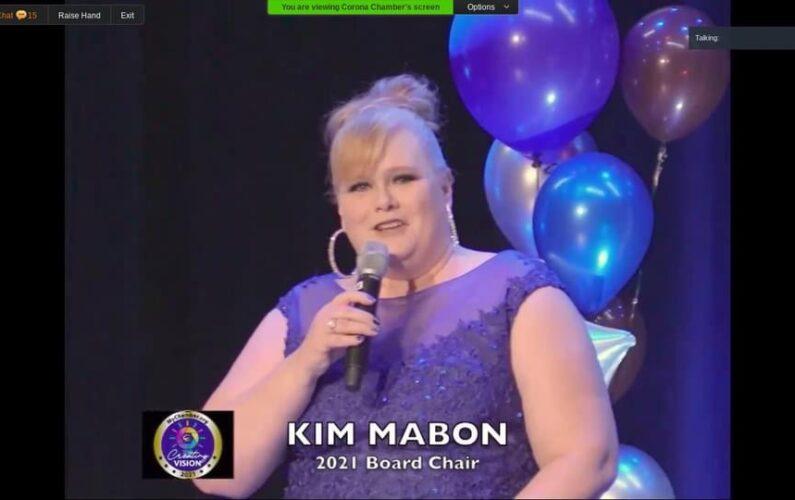 Kim Mabon installed as 2021 Board Chair